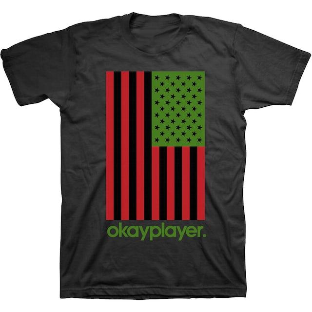 Okayplayer RBG Flag T-Shirt