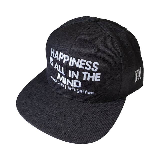 "Dead Prez Happiness Is All In The Mind"" Hat"