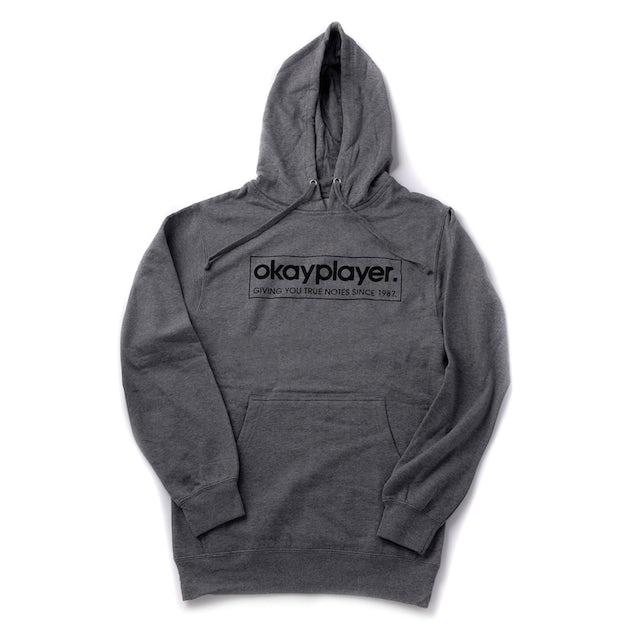 Okayplayer Logo Pullover Hooded Sweatshirt