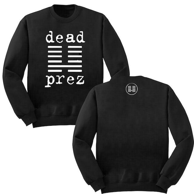 Dead Prez Logo Crewneck Sweatshirt