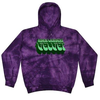 Adam Lambert Deep Purple Tie-Dye Hoodie