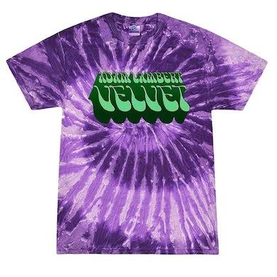 Adam Lambert Deep Purple Tie-Dye Logo Tee