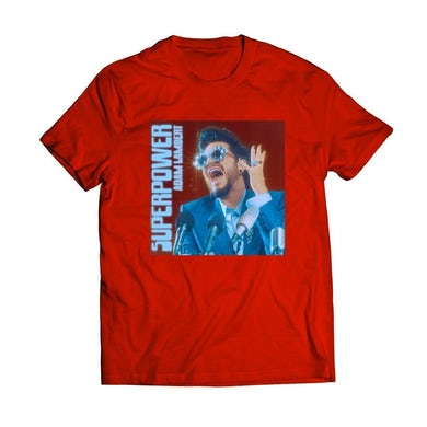 Super Power Blood Red Tee