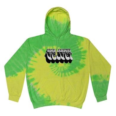 Adam Lambert Lime Green Tie-Dye Hoodie