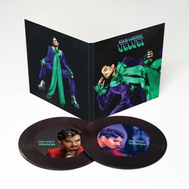 Adam Lambert VELVET Vinyl Coaster Set