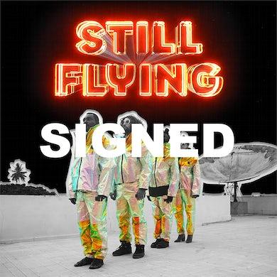 Bridget Kearney & Benjamin Lazar Davis Still Flying Signed LP Jacket