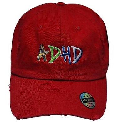 Joyner Lucas Red ADHD Dad Hat