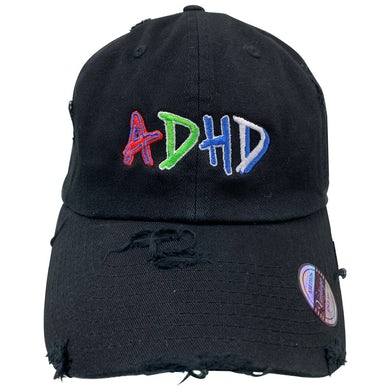 Black ADHD Dad Hat