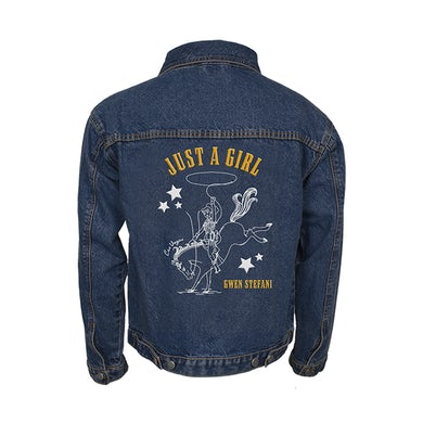 Gwen Stefani Just A Girl Yee Haw Denim Jacket