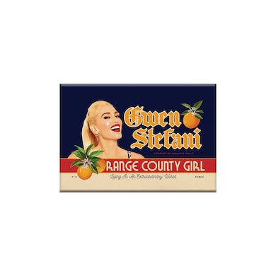 Gwen Stefani Orange County Girl Magnet