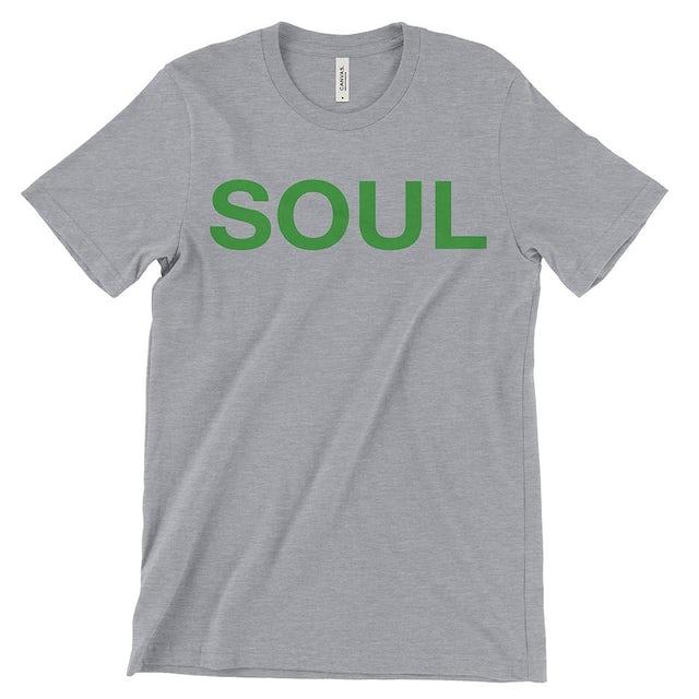 SOUL Brass Band Heather Grey & Green Men's T-Shirt