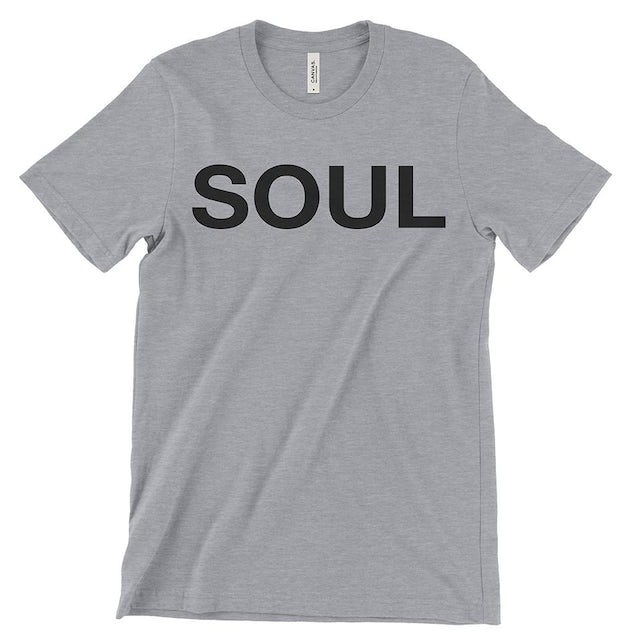 SOUL Brass Band Heather Grey & Black Men's T-Shirt