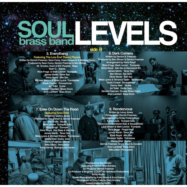 """SOUL Brass Band """"Levels"""" Album - Vinyl LP"""