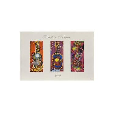 Limited Edition Anders Osborne / Bukaty Art Prints