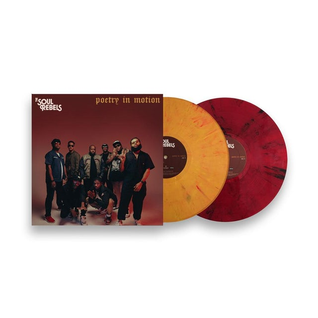 Soul Rebels LIMITED EDITITION - 'Poetry In Motion' - Single Splatter Colored Vinyl