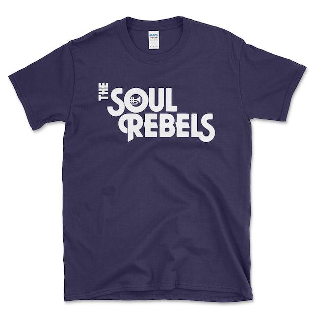 Soul Rebels Unisex Logo Tee Shirt - Blackberry