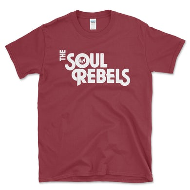 Soul Rebels Unisex Logo Tee Shirt - Cardinal Red
