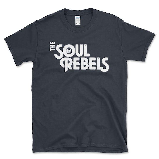 Soul Rebels Unisex Logo Tee Shirt - Dark Grey Heather