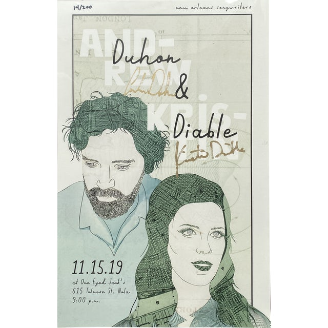 Andrew Duhon 11/15/19 Show Poster
