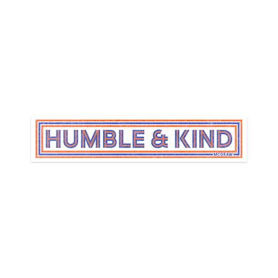Tim McGraw Humble and Kind Sticker