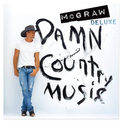 Tim McGraw Damn Country Music Deluxe CD