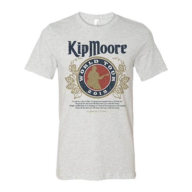 Kip Moore Beer Money '19  Tee