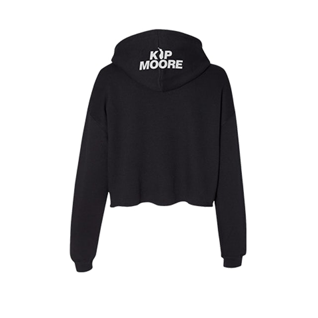 Kip Moore To the Moon & Back Crop Hoodie