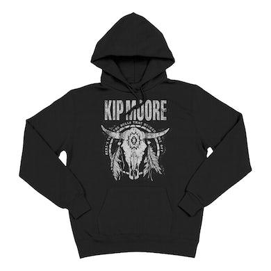 Kip Moore Black Bull Hoodie