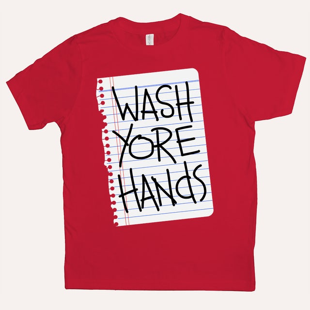 Quarantees Wash Yore Hands Youth Tee