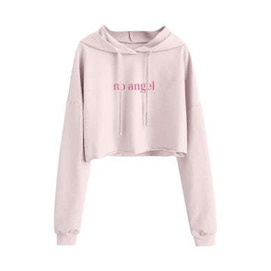 Charli XCX No Angel Blush Crop Hoodie