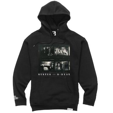 Berner Los Meros Album Hoodie - Shadow Black