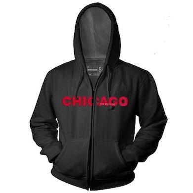 Chicago The Musical CHICAGO Vinyl Zip Hoodie