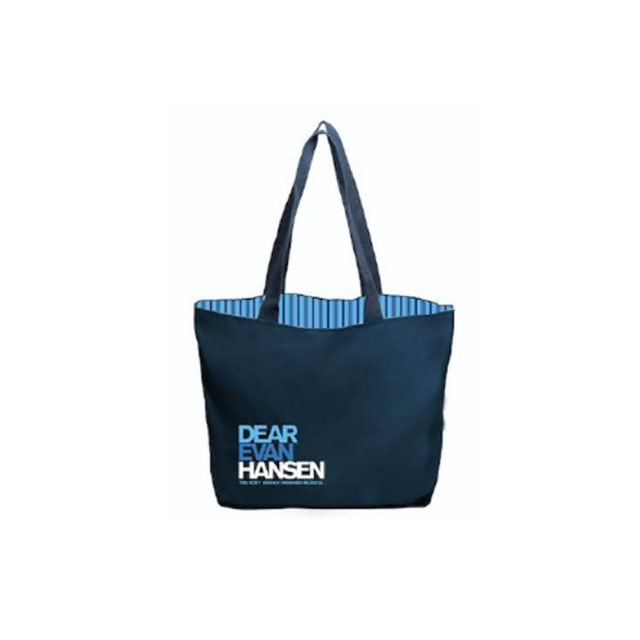 Dear Evan Hansen Striped Tote Bag