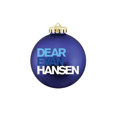 DEAR EVAN HANSEN Blue Ornament