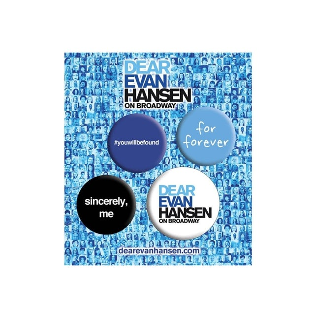 Dear Evan Hansen Button Set