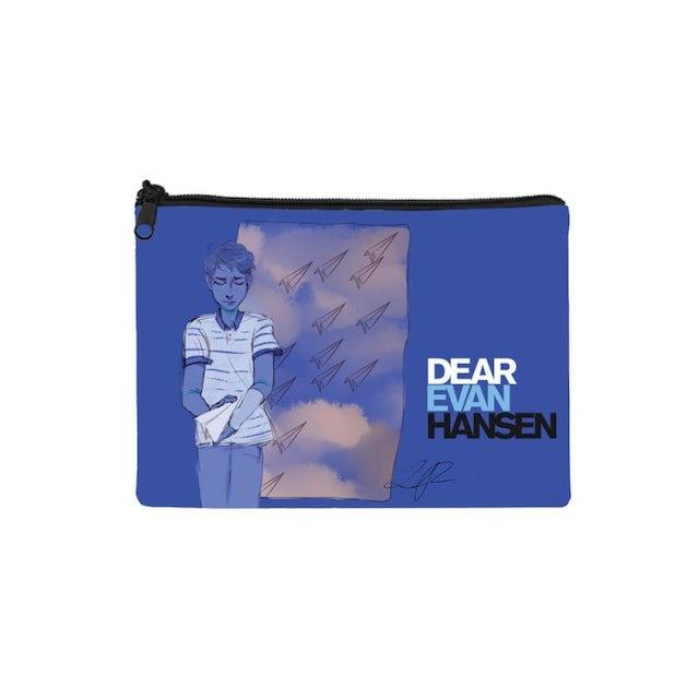 Dear Evan Hansen Fan Art Canvas Pouch