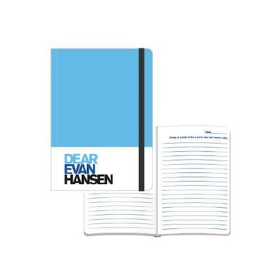 Dear Evan Hansen Blue and White Notebook