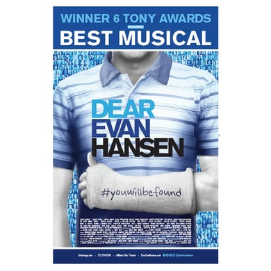 Dear Evan Hansen Windowcard - Toronto