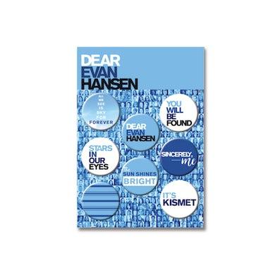 DEAR EVAN HANSEN 8 Button Set