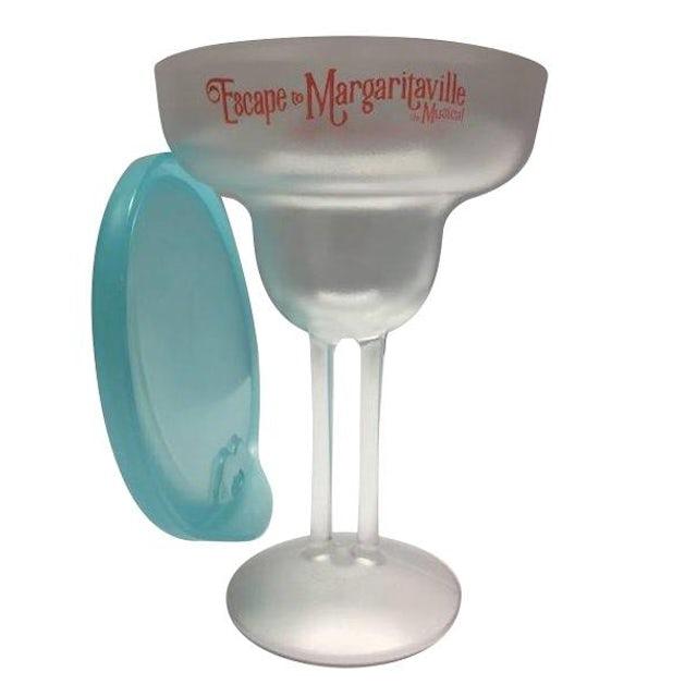Escape to Margaritaville Margarita Glass