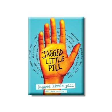 JAGGED LITTLE PILL Logo Magnet