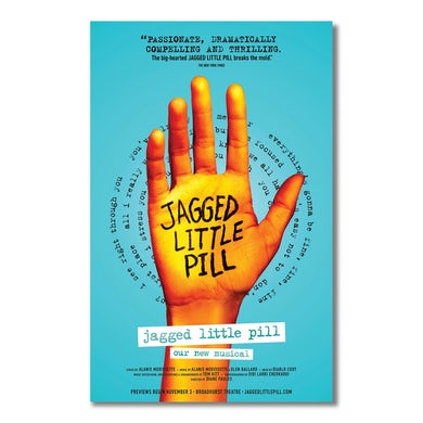Jagged Little Pill Windowcard