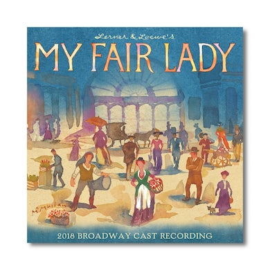 MY FAIR LADY Cast Recording - CD