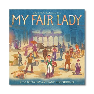 MY FAIR LADY Cast Recording - CD