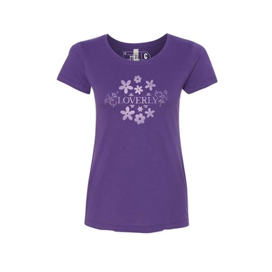 MY FAIR LADY Loverly Tee Purple