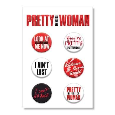 PRETTY WOMAN Button Set