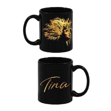 TINA Gold Face Logo Mug