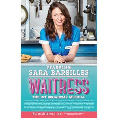 Waitress Sara Bareilles Windowcard