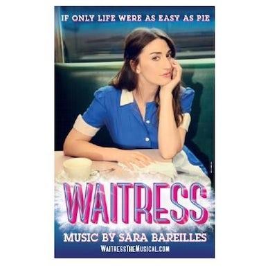 WAITRESS Windowcard