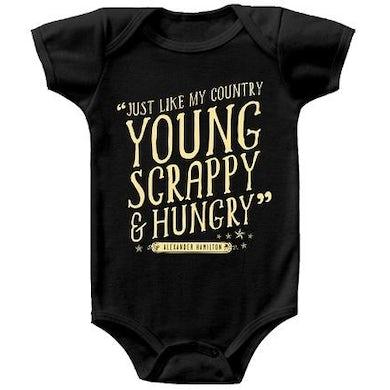 Hamilton Young and Scrappy Onesie